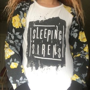 Sleeping with sirens long sleeve shirt